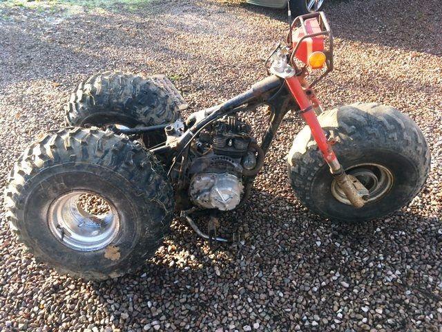 Honda ATC 200e project, barn find, trike / quad