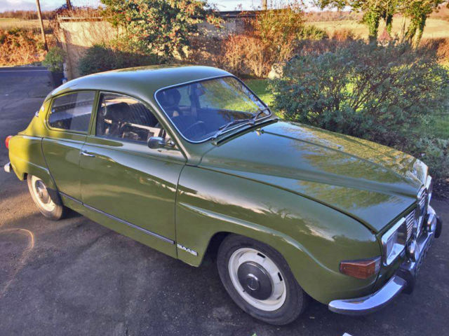 1972 CLASSIC SAAB 96 V4 TAX EXEMPT