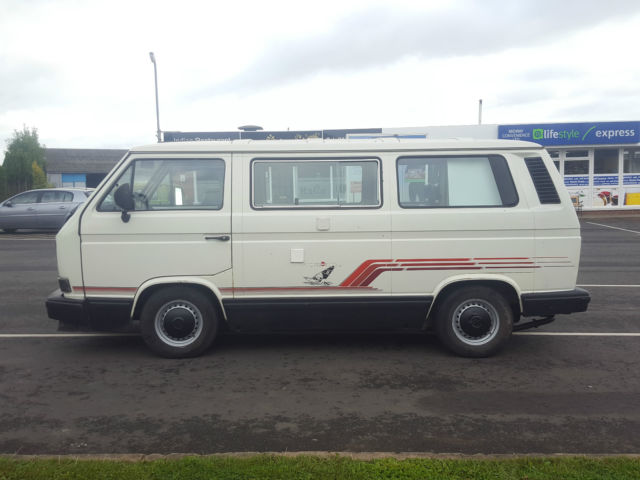 VW T25 Caravelle Camper van Westfalia