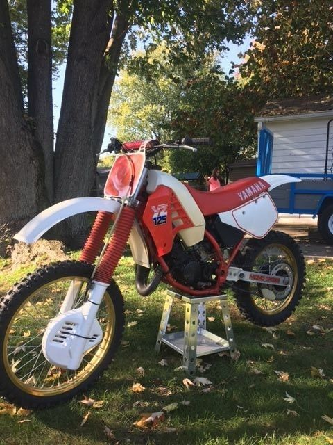 1986 Yamaha YZ 125