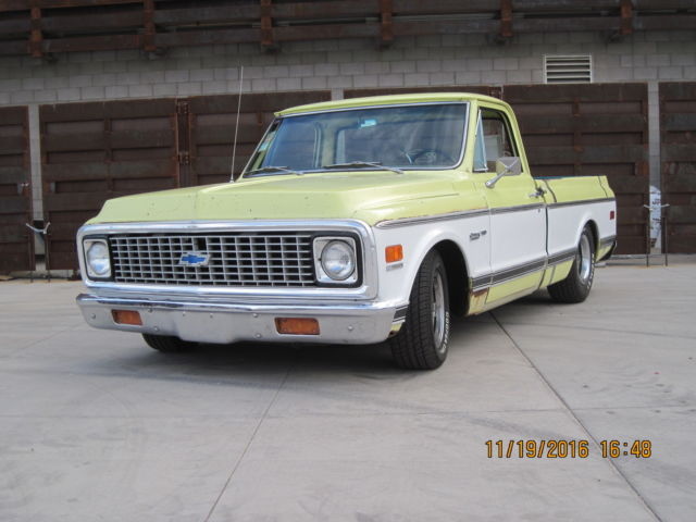 1971 Chevrolet Custom Deluxe C10 short bed shop truck pickup