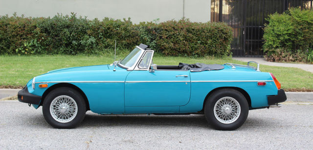 California Original, 1976 MGB Roadster, 100% Rust Free, Runs A+, **NO RESERVE**