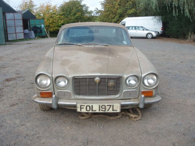Jaguar 4.2 XJ6 Auto Series 1 1972 Tax Exempt Barn Find Project Spares or Repair