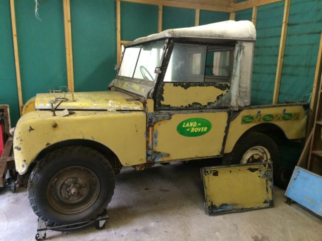 Series 1 Land Rover Engine Land Rover Series One 80 Inch