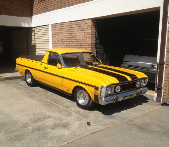 ford falcon  xw  month rego xy gt ute manual