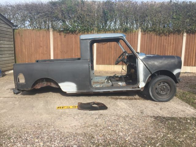 Classic Austin Morris Mini Pick Up 95l1979 Restoration For Sale