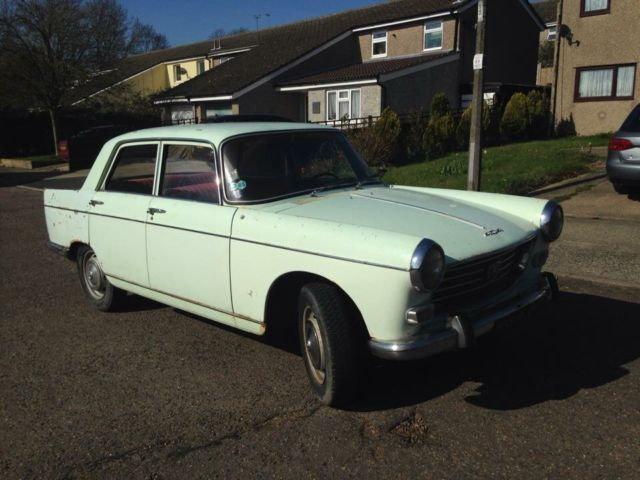 1967 Peugeot 404 LHD French Registered