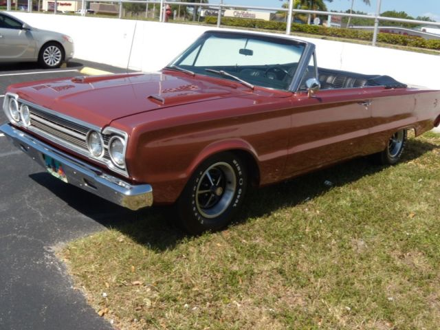 1967 Plymouth Satellite GTX CLONE CONVERTIBLE