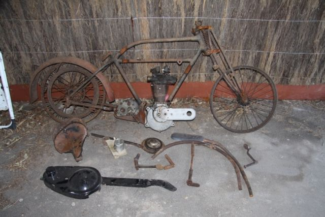 Vintage BSA 1926 350cc OHV Project bike