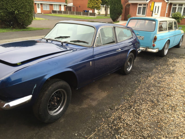 reliant scimitar gte classic solid car good interior great project no engine