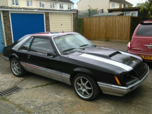 1980 FORD MUSTANG AUTO BLACK