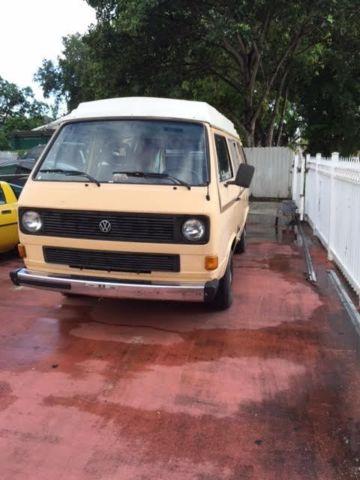 1985 Volkswagen Bus/Vanagon