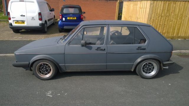 volkswagen mk1 golf 5 door not vw mk2 mk3 caddy polo