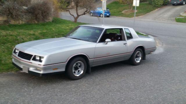 1985 Chevrolet Monte Carlo Monte Carlo SS