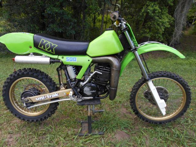 KAWASAKI KX 500 1983  NO RESERVE VMX CR500 YZ490 RM500