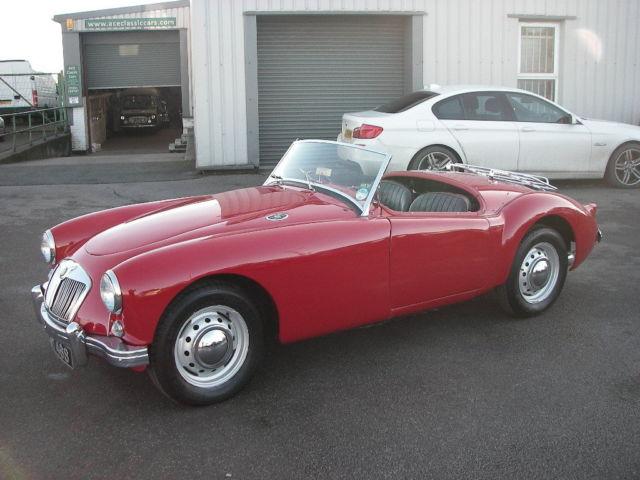 1956 MGA 1500 Roadster
