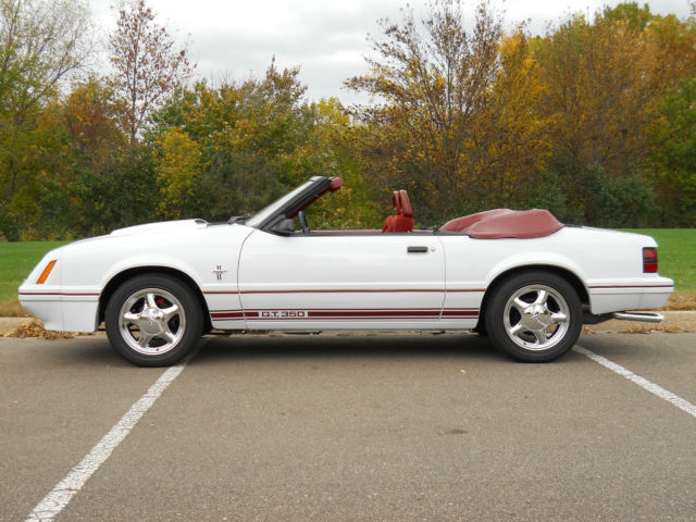 1984 Ford Mustang GT 350 Convertible