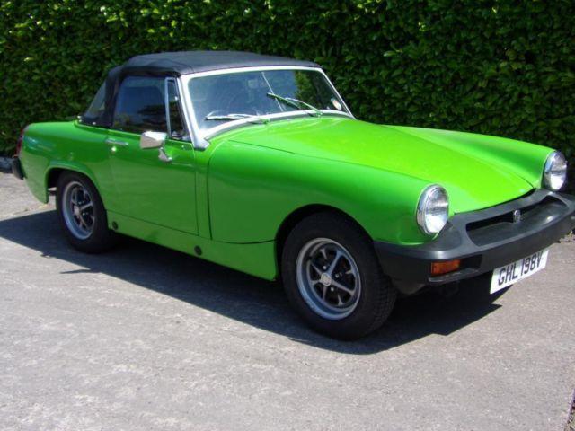 1980 MG MIDGET 1.5 1500 2D 65 BHP