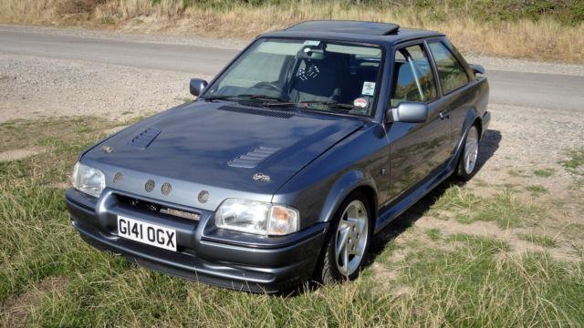 1990 Ford Escort 90-Spec Series 2 RS Turbo Mercury Grey