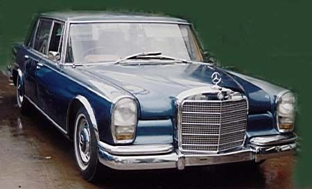 Mercedes 600 Grosser 1964 - project