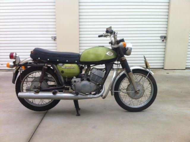 1969 Suzuki T250