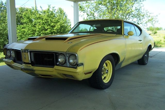1970 Oldsmobile Cutlass Rallye 350