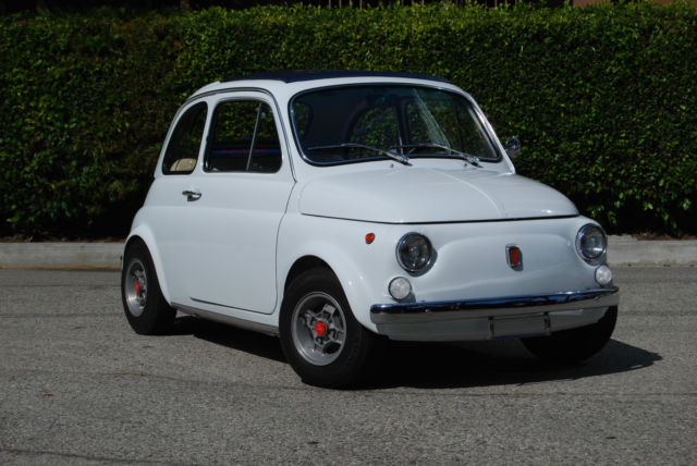 19700000 Fiat 500 Fast and Fun!