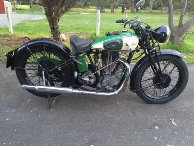 BSA 1934 500 cc OHV