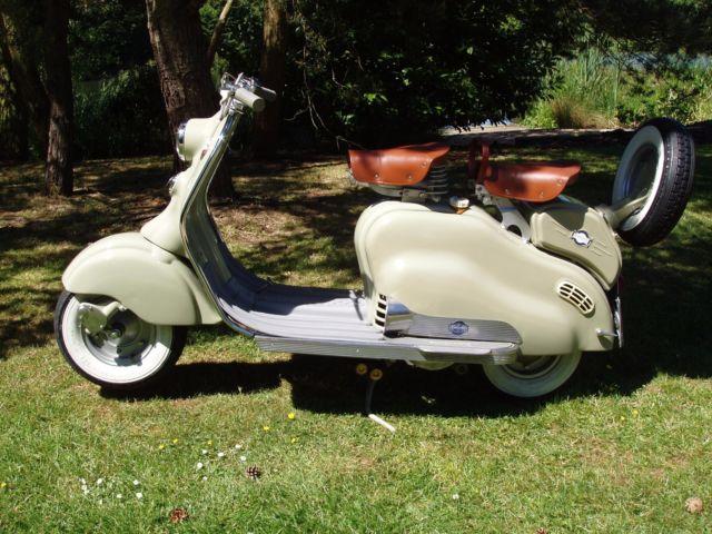 LAMBRETTA LD125, 1953 SCOOTER.