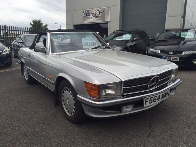 Mercedes-Benz 500 SL CONVERTIBLE 1989 F REG CLASSIC