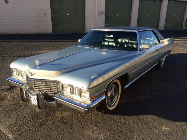 1972 Cadillac DeVille For Sale Salt Lake City, Utah, United States