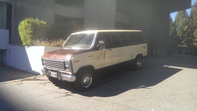 Ford : E-Series Van Chateau