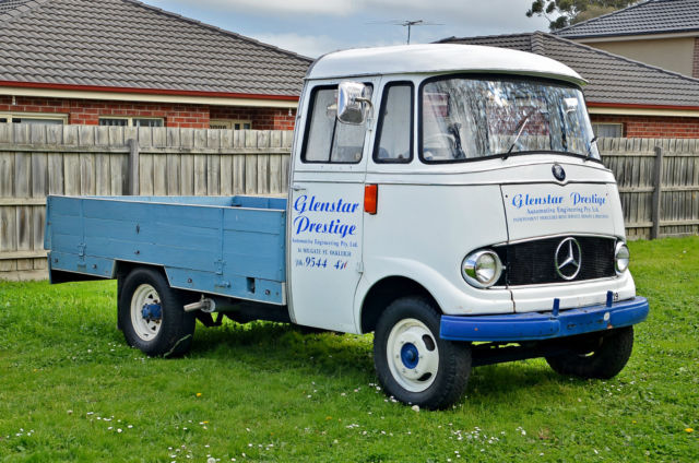 1962 Mercedes-Benz L319 Ute Only one in Australia. Collectors Item!