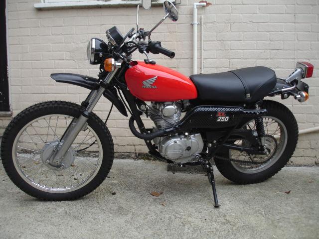 Honda XL250 K1 Motosport xl250 Motor Sport 1974 9,000 Miles Classic Motorcycle