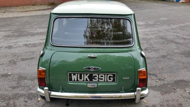 1968 Mk2 Austin Mini 1275 Cooper S Heritage Certificate Matching