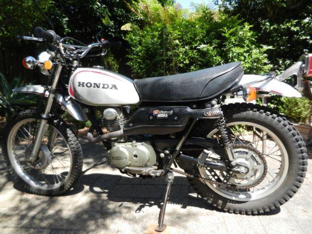 1972 Honda XL250 K0 Motosport Road/trail
