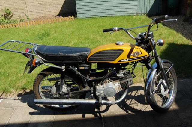 Suzuki T90 Wolf 1971  restored