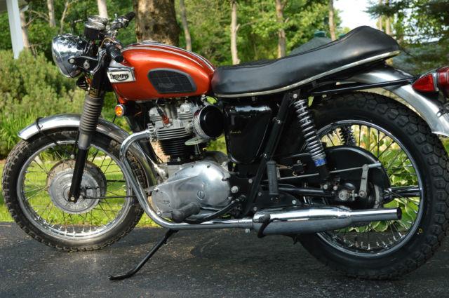 1969 Triumph Bonneville For Sale Terrasse Vaudreuil Quebec Canada