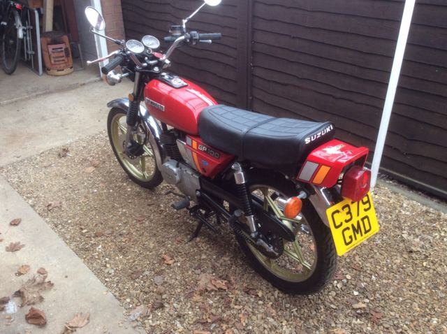 Suzuki gp100 -  fantastic example.  Months mot. Recent full rebuild