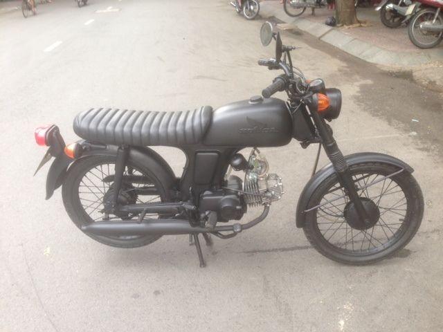 Honda SS50, Honda 67, 110cc Matte Black