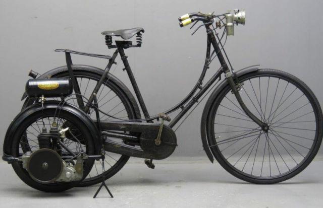 RARE SWIFT/ WALL AUTOWHEEL AUTO CYCLE c1914 BSA VETERAN ANTIQUE SWIFT collectors