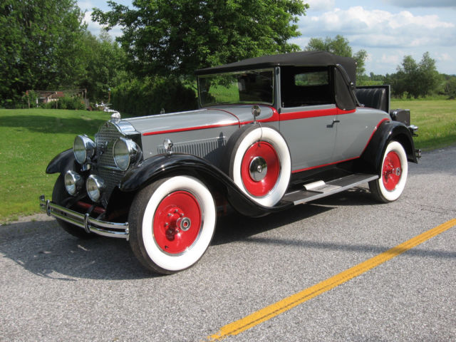 1930 Packard 733 Convertible Coupe