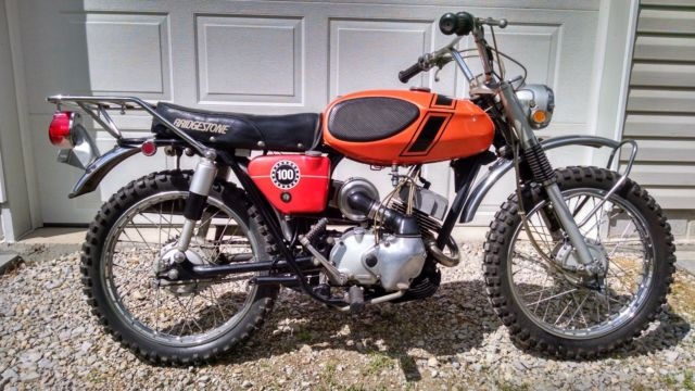 1971, Bridgestone Motorcycle,100TMX