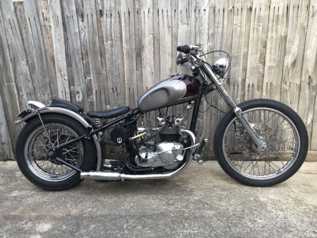1968 triumph T100C chopper