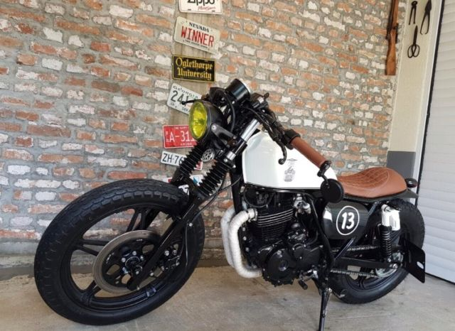 "We are dedicated to the ""Cafe Racer"" style and the willingness to change."