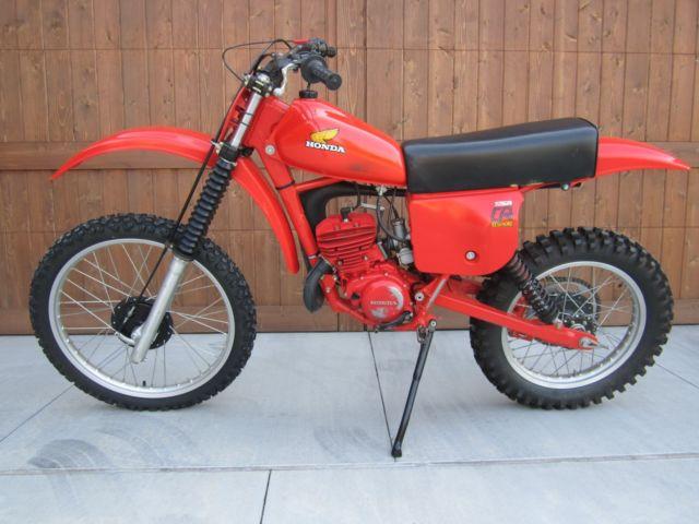 "1979 Honda Elsinore CR125  ""Red Rocket"""