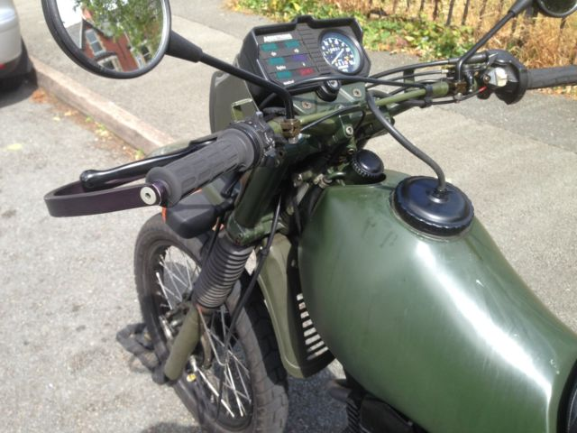 Ex Army Motorbike Armstrong MT500