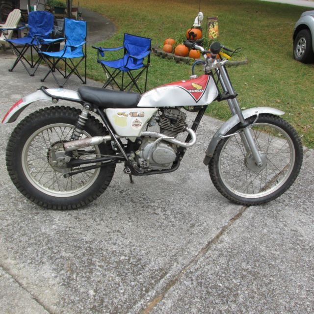 TL 125 vintage trials bike