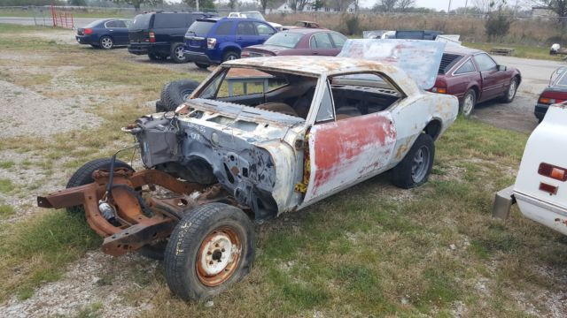 1967 Chevrolet Camaro 350 SS car, with parts
