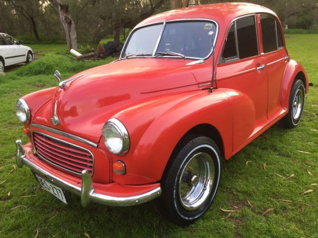Morris minor split screen Hot Rod Project, Daily driver